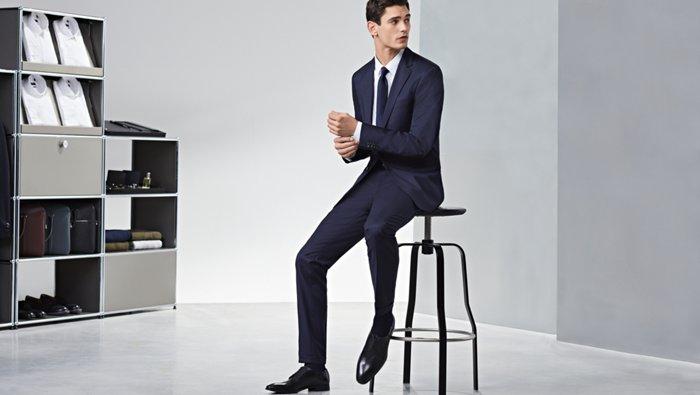 Der BOSS Guide zu farblich abgestimmten Anzügen und Schuhen