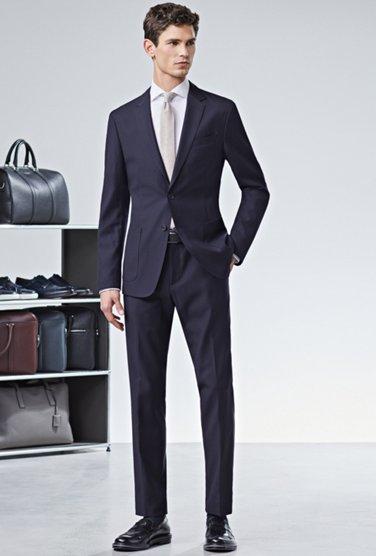 667b659f16636 BOSS Guide | The right trousers length for men | HUGO BOSS