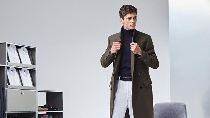 Der BOSS Guide zu Mänteln und Jacken