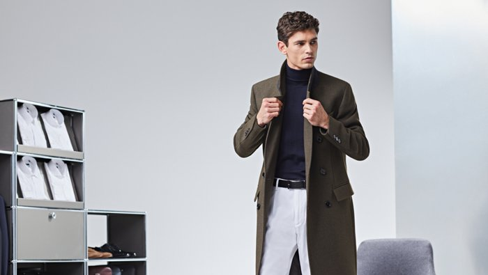 Coats and Jackets guide from BOSS
