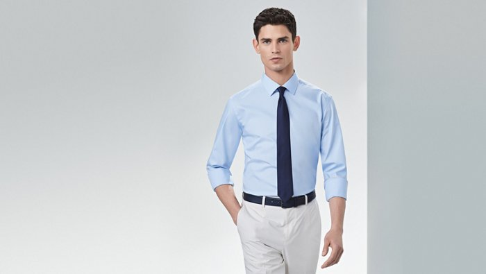 How to roll up your shirt sleeves guide from BOSS
