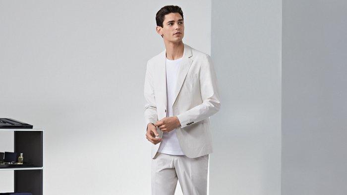 Guía para lucir un traje en verano de BOSS