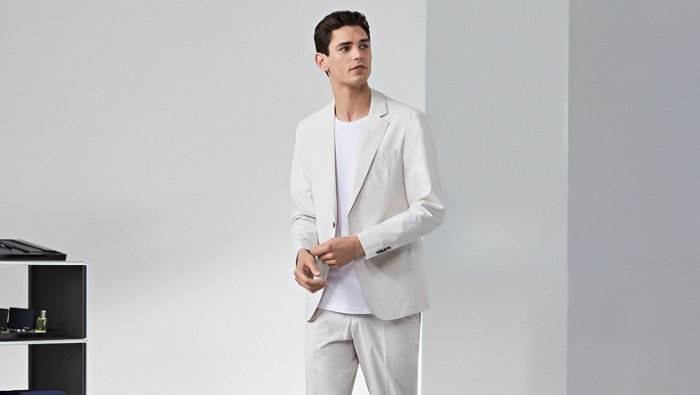 How to wear a suit in the summer guide by BOSS