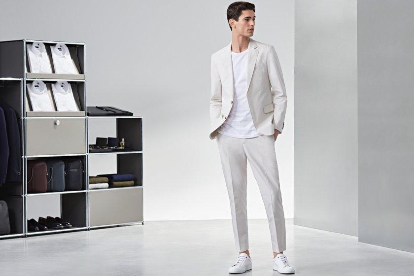e2fadb0feb82 10 Sneaker-Regeln | Kombinationen mit Anzug und Chino | BOSS
