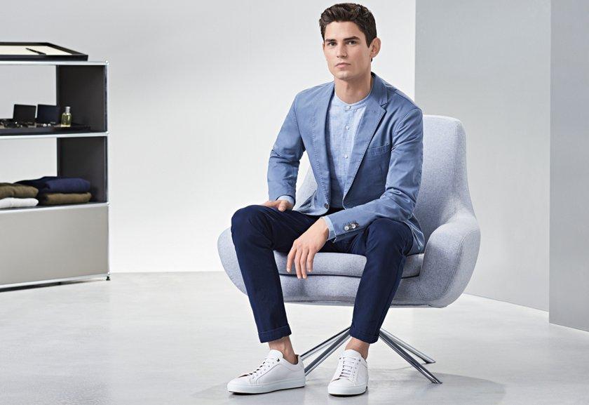 8019a383d9db9 10 Sneaker-Regeln | Kombinationen mit Anzug und Chino | BOSS