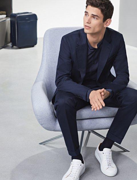 the latest a73ff 675a4 10 Sneaker-Regeln | Kombinationen mit Anzug und Chino | BOSS