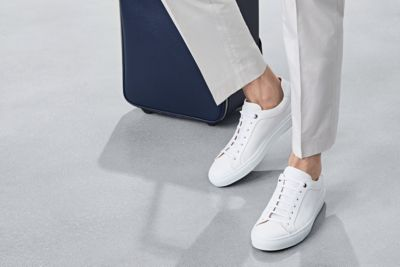 White sneakers from BOSS