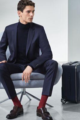 Kostuum- en sokkleuren combineren