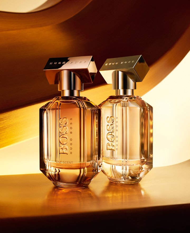 The Scent eau de parfum and The Scent private accord for her from BOSS ... 40fef039069ec