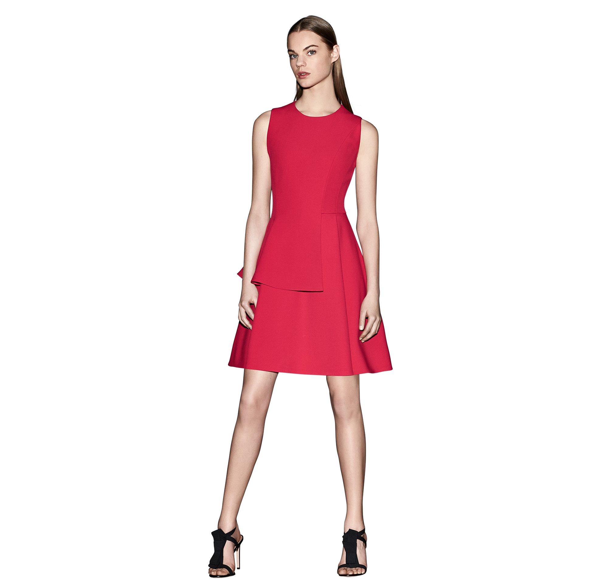 Rode jurk van BOSS