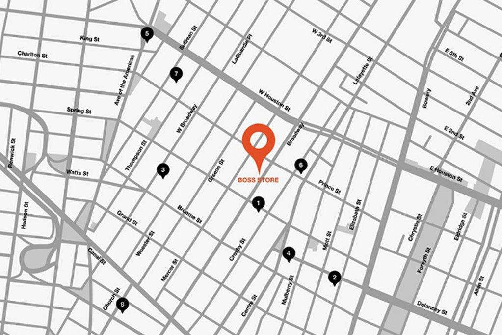 Around the corner: Soho, New York City