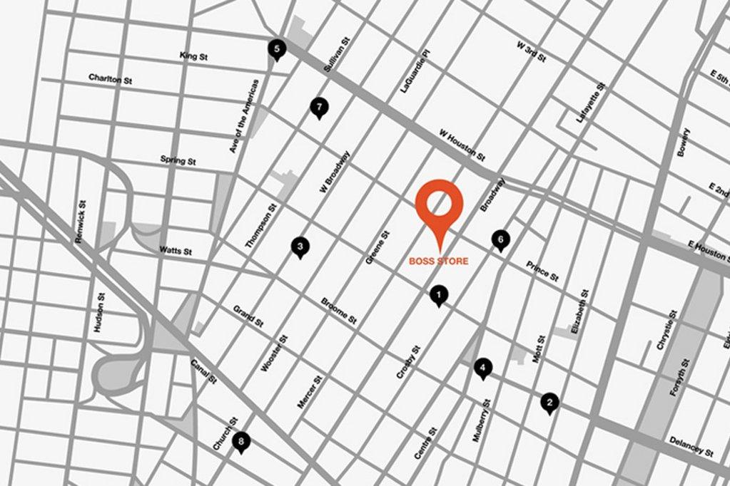 Um die Ecke: SoHo, New York City