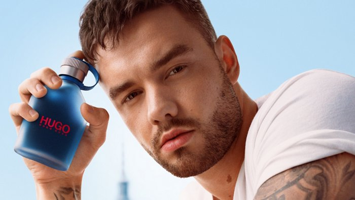 HUGO Now fragance with Liam Payne for men