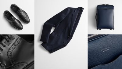 Essentials to pack for a business trip from BOSS