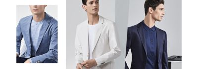 how to wear a suit in the summer