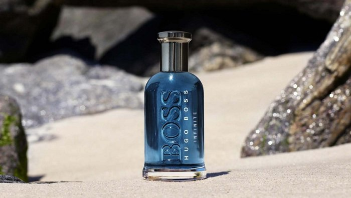 The new BOSS Bottled Infinite fragrance from BOSS
