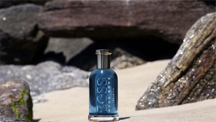 The new BOSS Bottled Infinite fragrance from BOSS