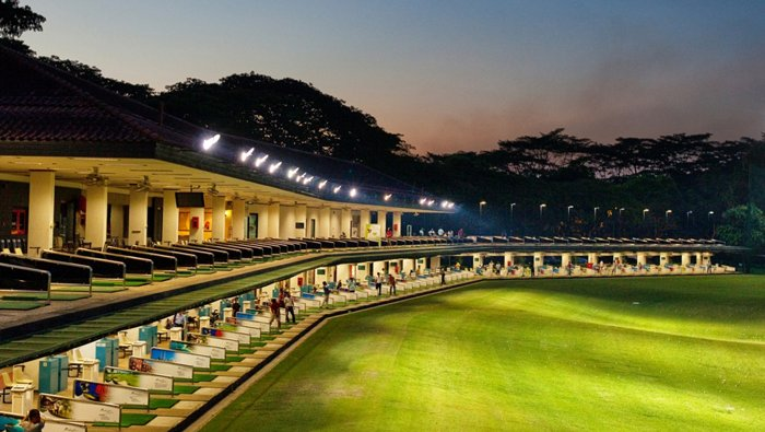 Orchid Club driving range, Singapore