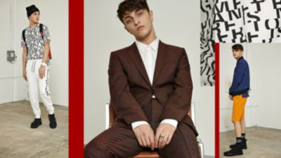 HUGO Menswear looks for the weekend