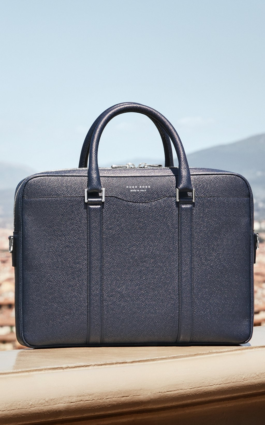 14cc86568f Black Signature Bag by BOSS Black Signature Bag by BOSS. Made in Italy
