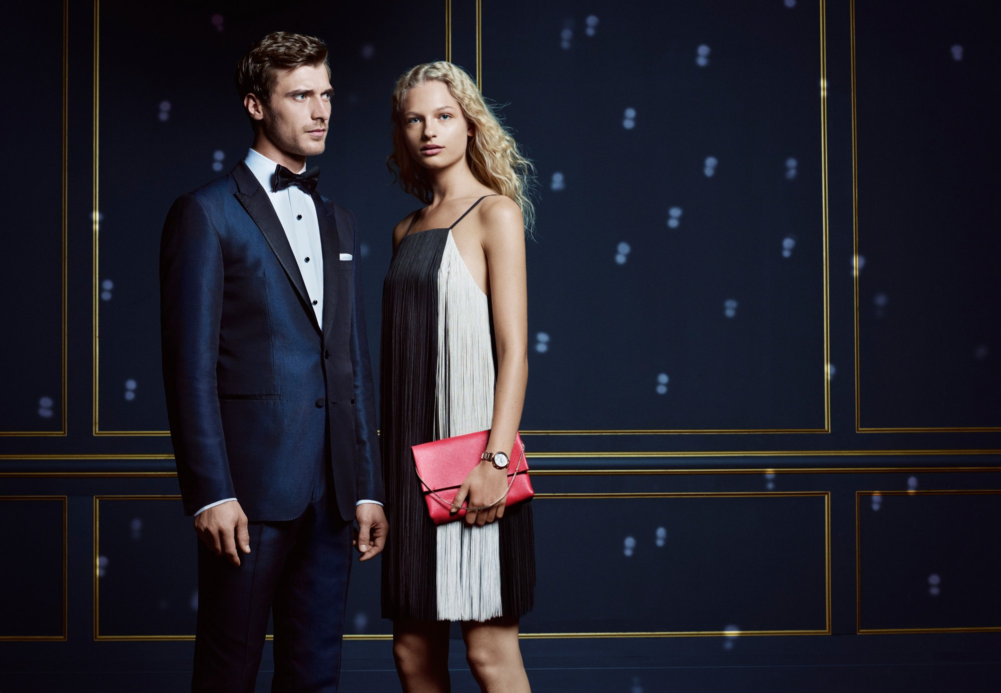 Relaxed holiday looks for him and for her by BOSS