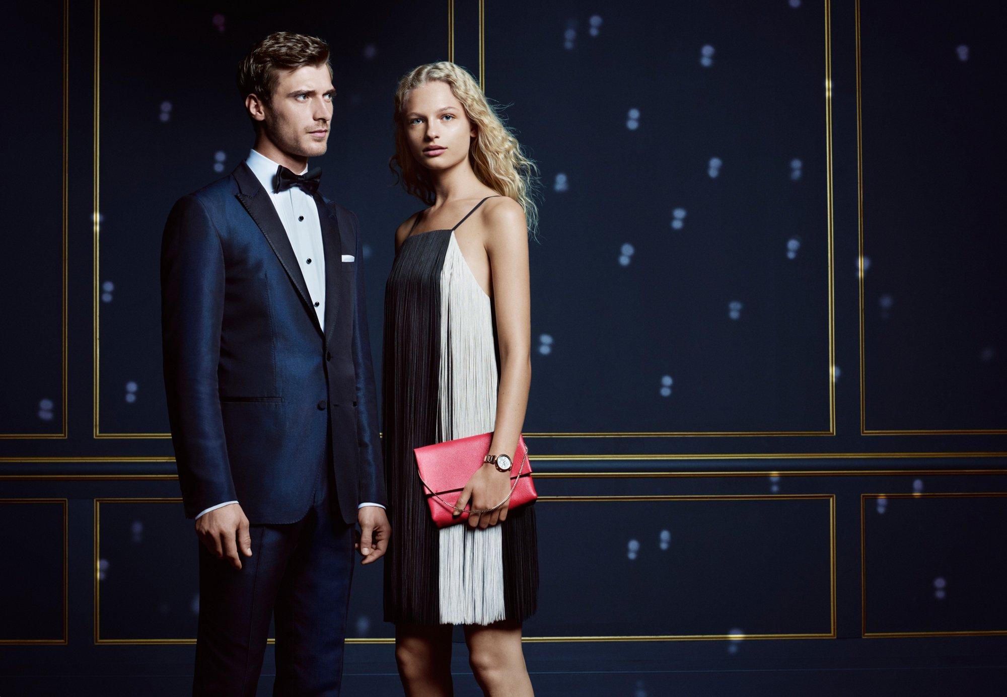 Der große Auftritt– Outfits für Damen und Herren von BOSS
