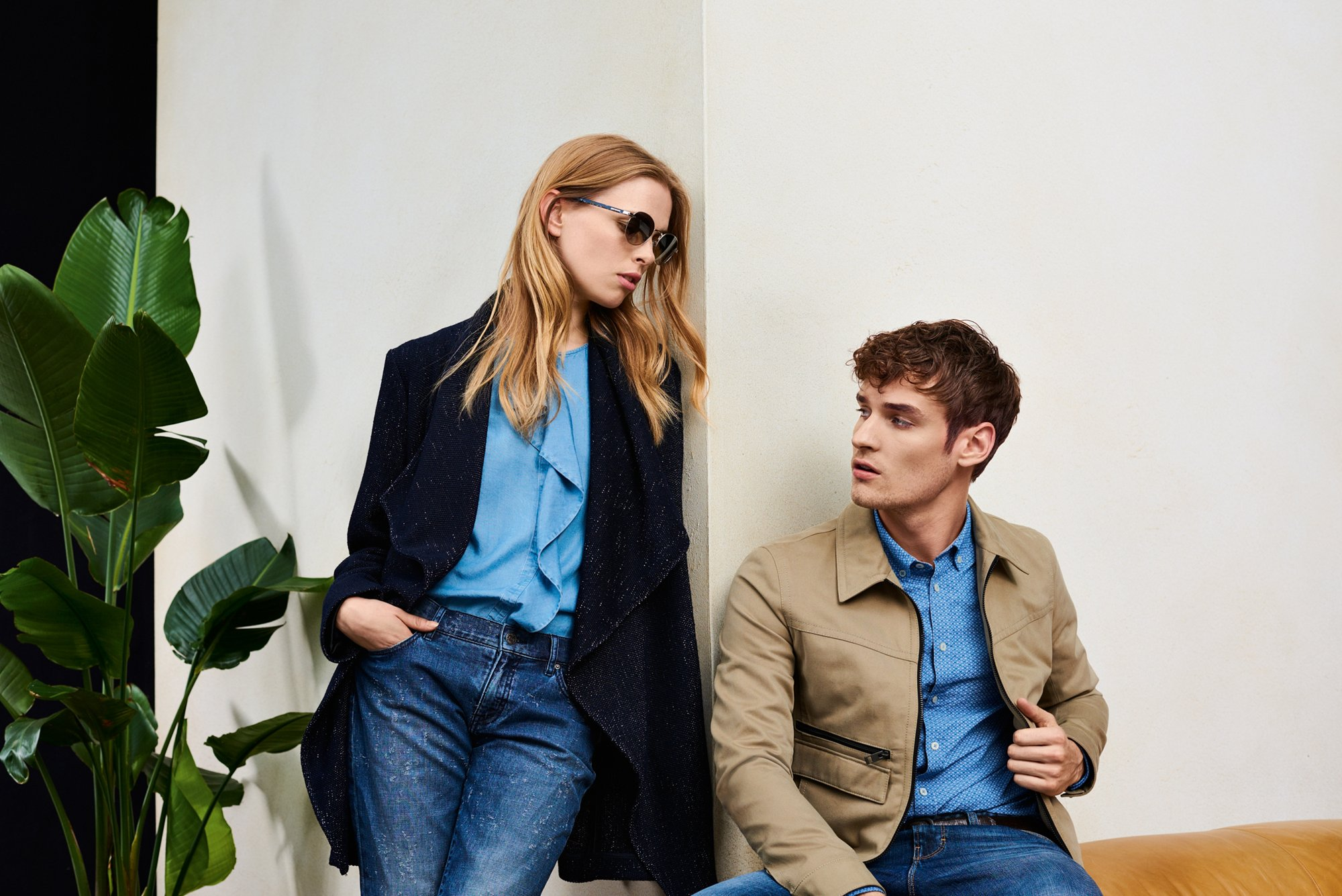Pre-Spring 2017 campaign by BOSS Orange