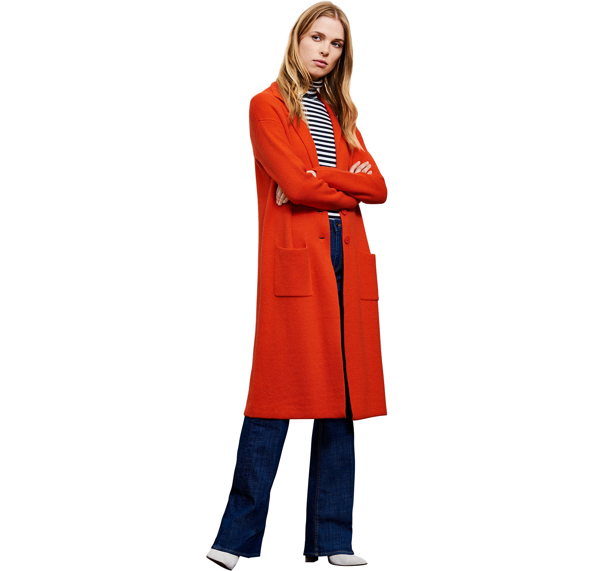 Manteau, jeans BOSS Orange Femme
