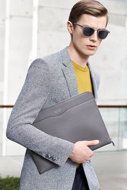 Jacke, Strick und Tasche von BOSS Menswear