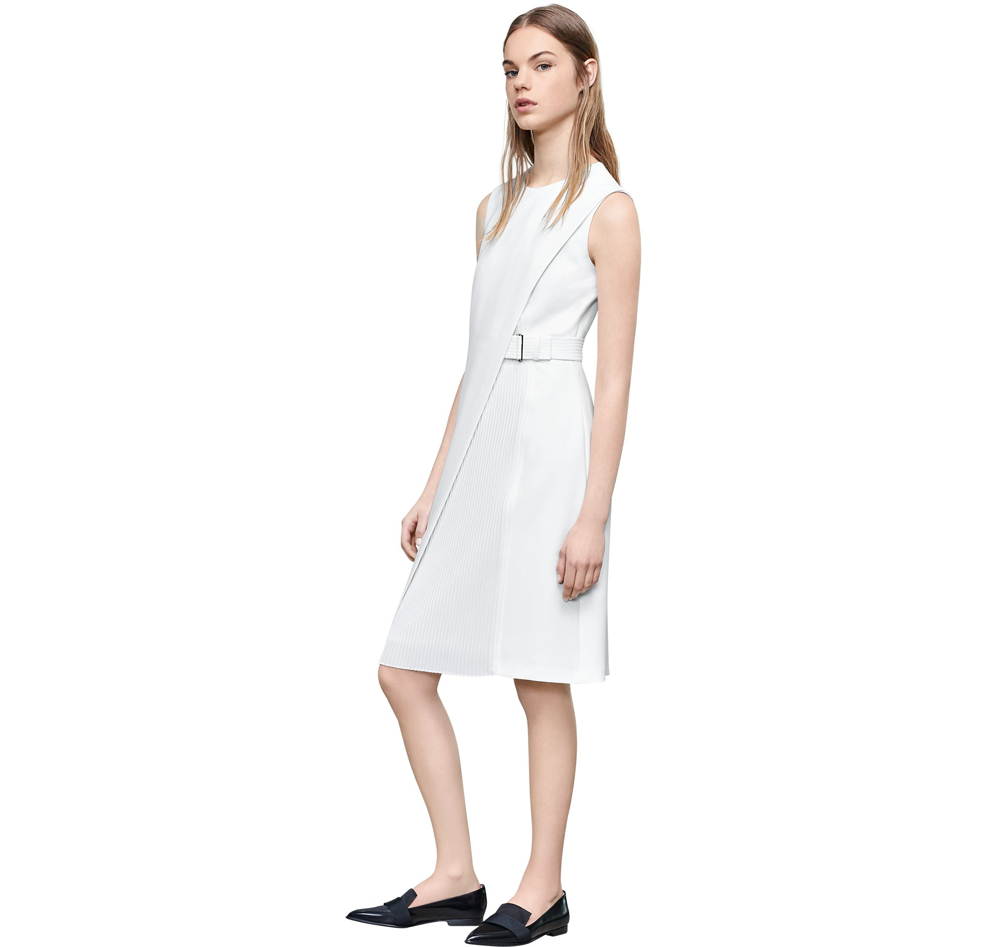Dress and shoes by BOSS Womenswear