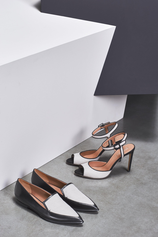 Canvas sandal high heels by BOSS