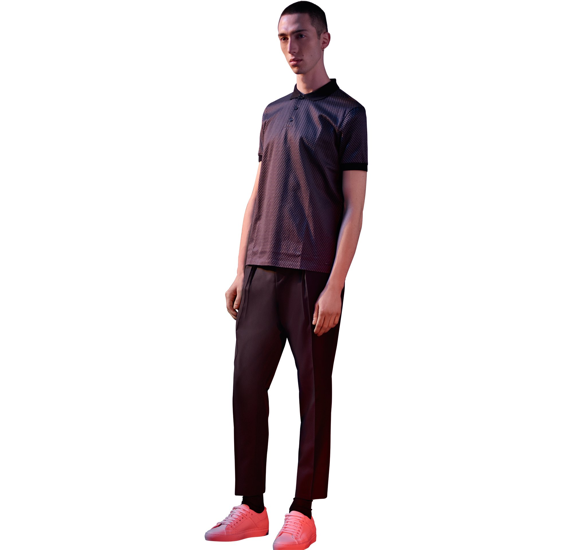 Shirt, trousers, sneakers by HUGO Menswear