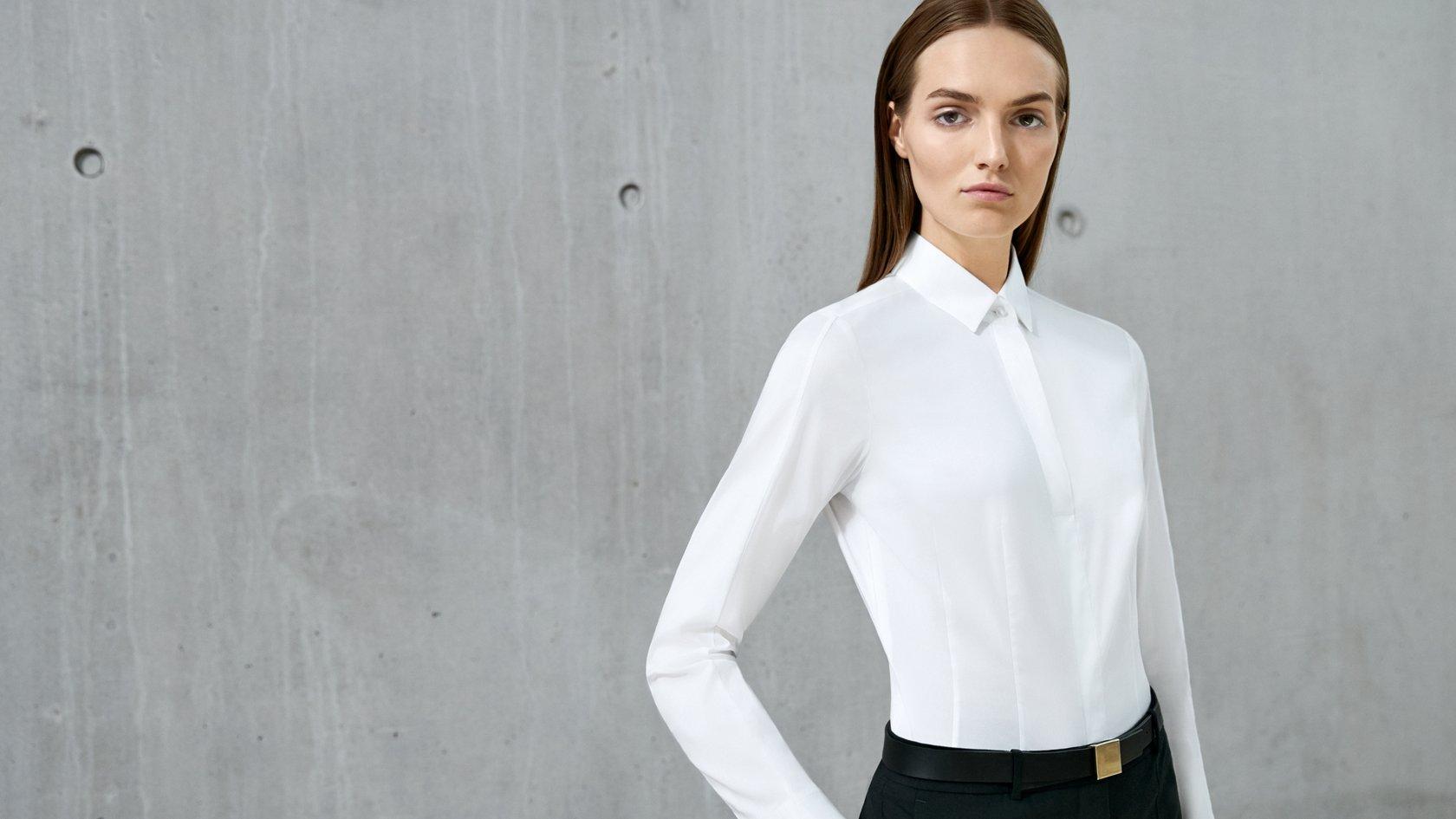 Modern ways to wear a classic white shirt