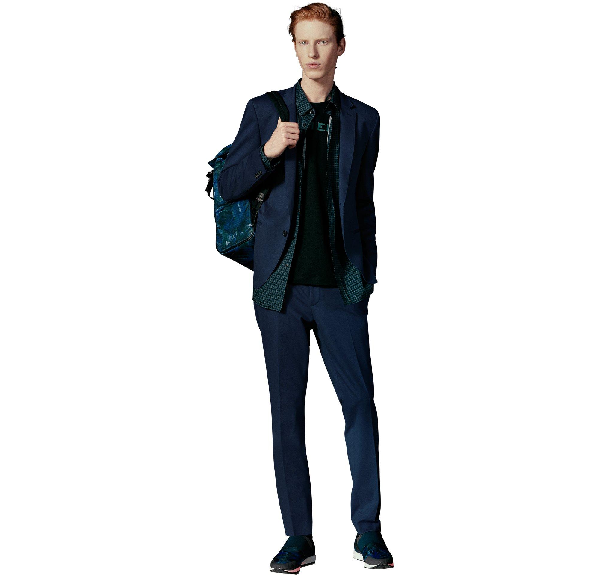 Suit, shirt, bag by HUGO
