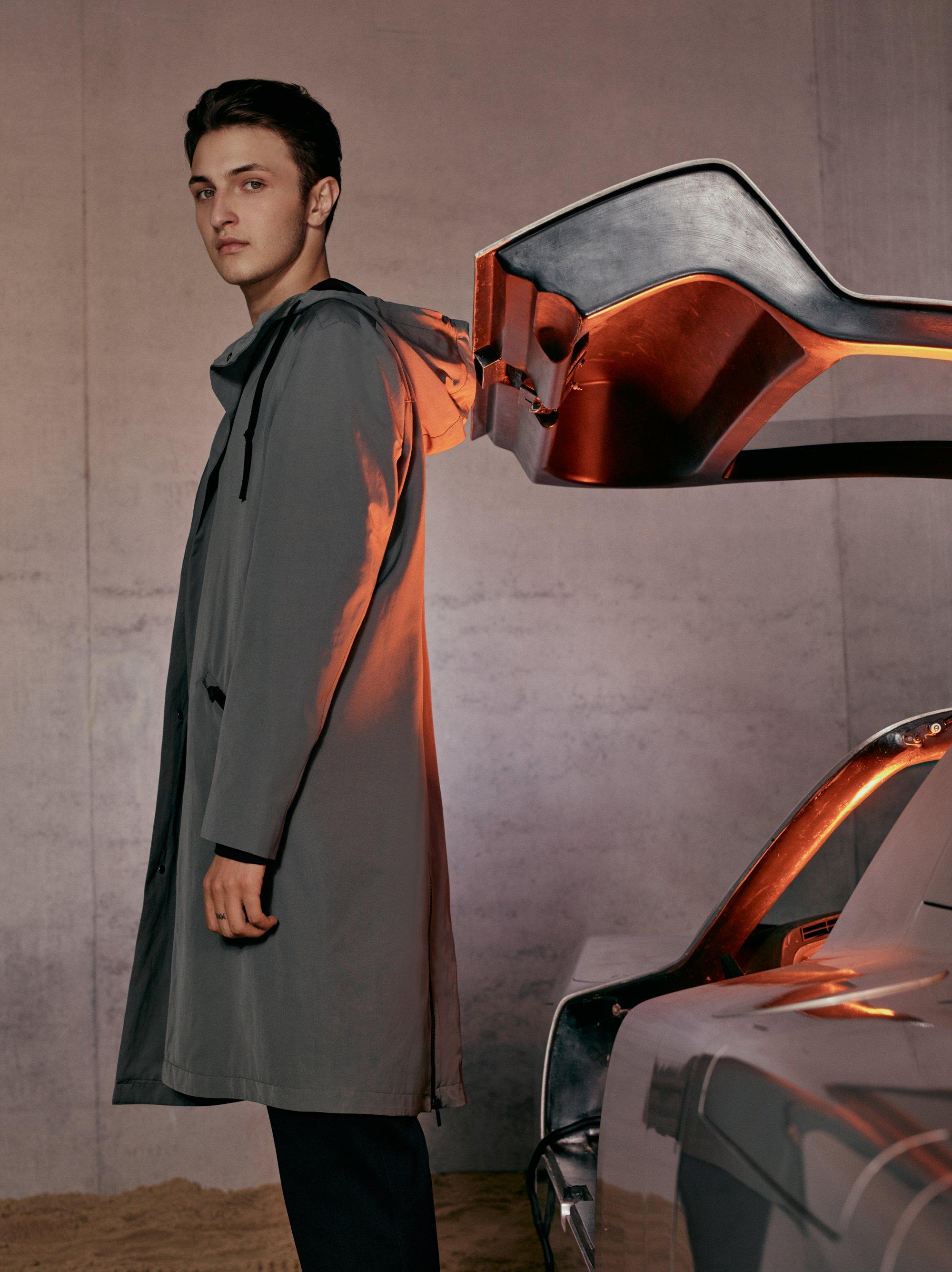 Coat by HUGO Men