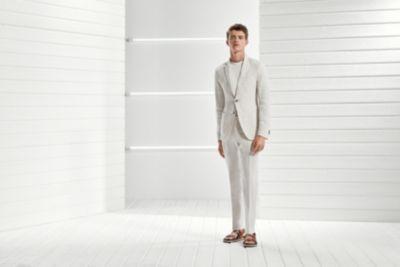 Vestito Uomo Matrimonio Lino : Boss uomo capi in lino la guida per usarli bene