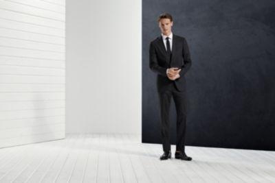 Mit dem BOSS Anzug-Guide finden Sie die perfekte Passform