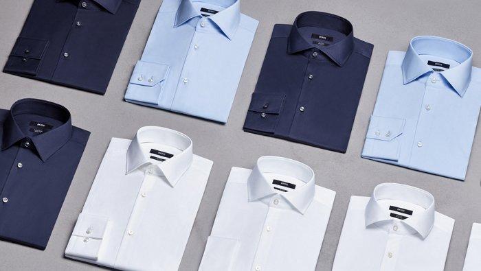 The BOSS shirt guide