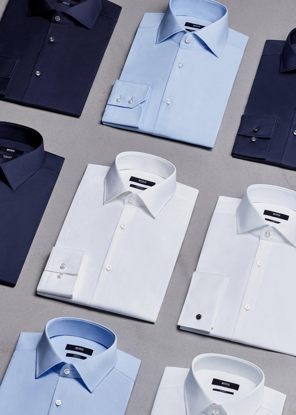 9bae781be6f1 Hemdformen für Herren von BOSS - Style Guide