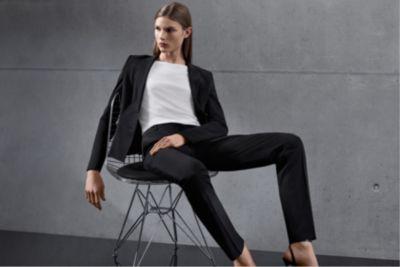 BOSS womenswear Essentials collection