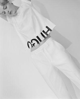 Logo Cotton Graphic T-Shirt