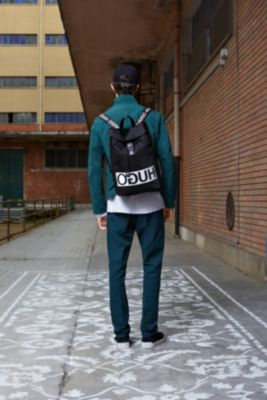 HUGO Logo Backpack