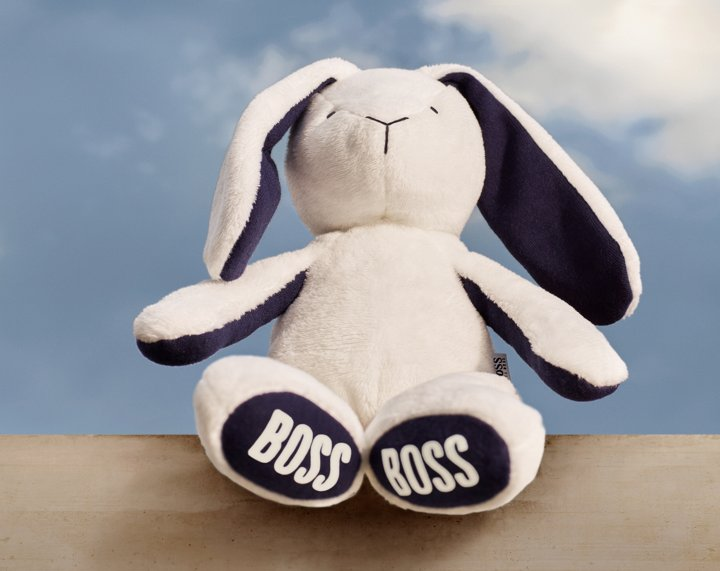 White cuddly toy from BOSS ... 5bc6938c7