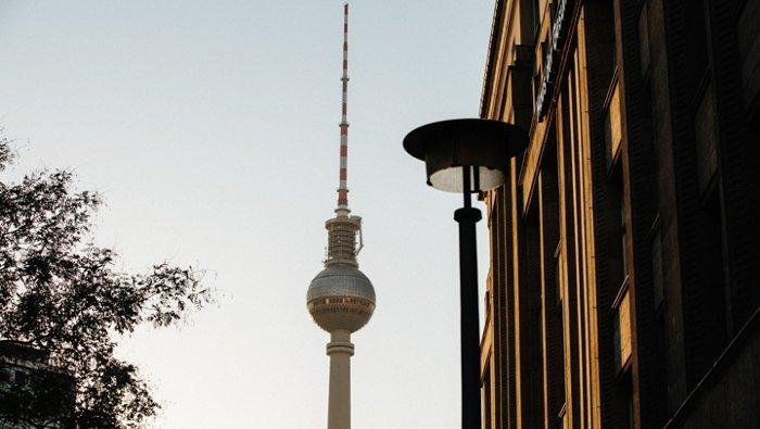 Televisietoren in Berlijn