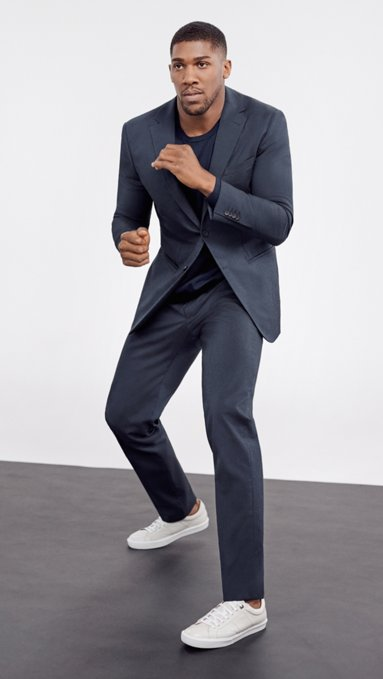 484cf7ddb00a BOSS stretch tailoring: Suits for men with enhanced elasticity
