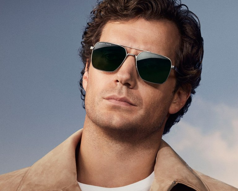bad32a6420 ... The new BOSS Eyewear collection featuring actor Henry Cavill