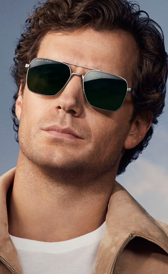 f602d34ecd1a Henry Cavill is wearing sunglasses from BOSS ...