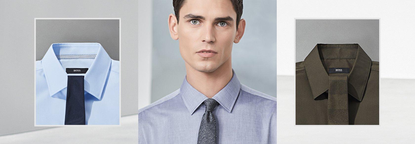 Boss How To Die Richtige Krawatte Zum Hemd Hugo Boss