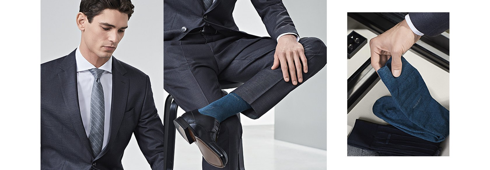 Boss Ratgeber Die Passenden Socken Zum Anzug Hugo Boss