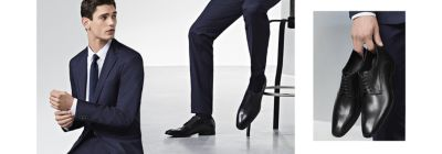 match suit and shoes